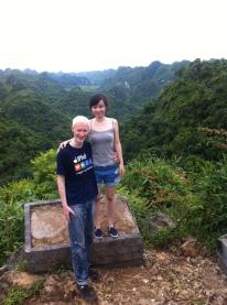 Auf der Spitze von CatBa Island