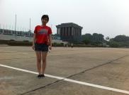 HoChiMinh Mausoleum in Hanoi
