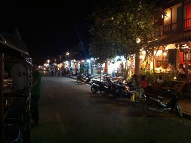 LuangPrabang in der Nacht