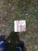 an dieser Stelle wurde eine Miene gefunden und entschärft