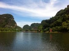 Ende der Bootstour durch Trang An