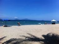 Strand auf der Halbinsel AnHoi bei HoiAn