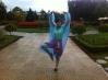 tanzen im Blumengarten in DaLat